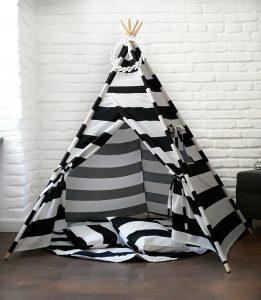 Black&White Stripes TeePee