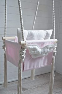 Baby Angel Swing Pink