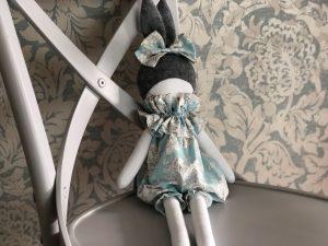 Bunny Doll Blue Organic Cotton