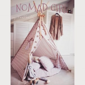 "Dusty Pink ""Nomad Girl"" TeePee"