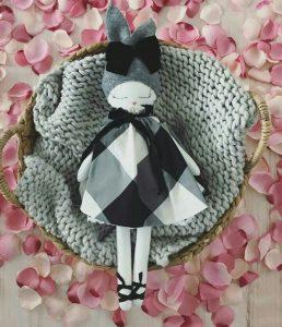 Limited Edition Silk Bunny Doll