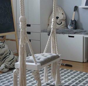 "Indoor swing ""glamour"" Grey"