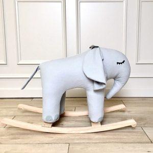 Rocking Elephant Grey Small