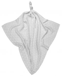 """Silver Glow"" Bamboo Swaddle Grey"