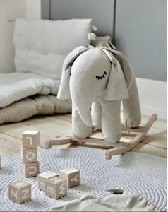 Rocking Elephant Natural Small