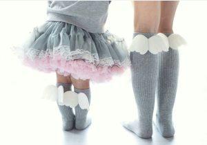Angel Socks Grey