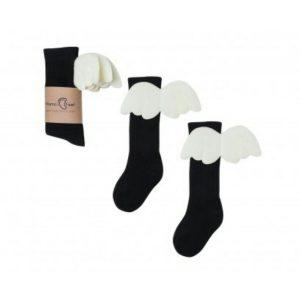 Angel Socks Black