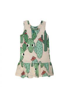 Green Cactus Dress