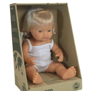 Caucasian Girl Doll (38cm)