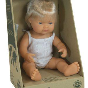 Caucasian Boy Doll (38cm)